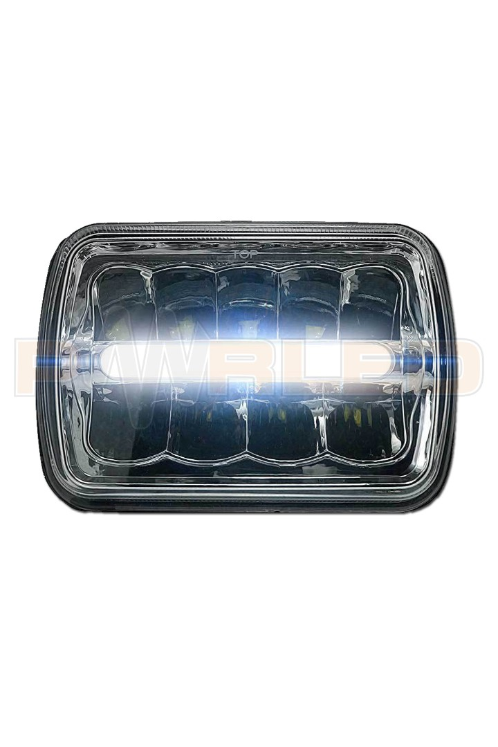 5X7 INCH 65W JEEP,TOYOTA UYUMLU LED FAR (SET FİYAT)