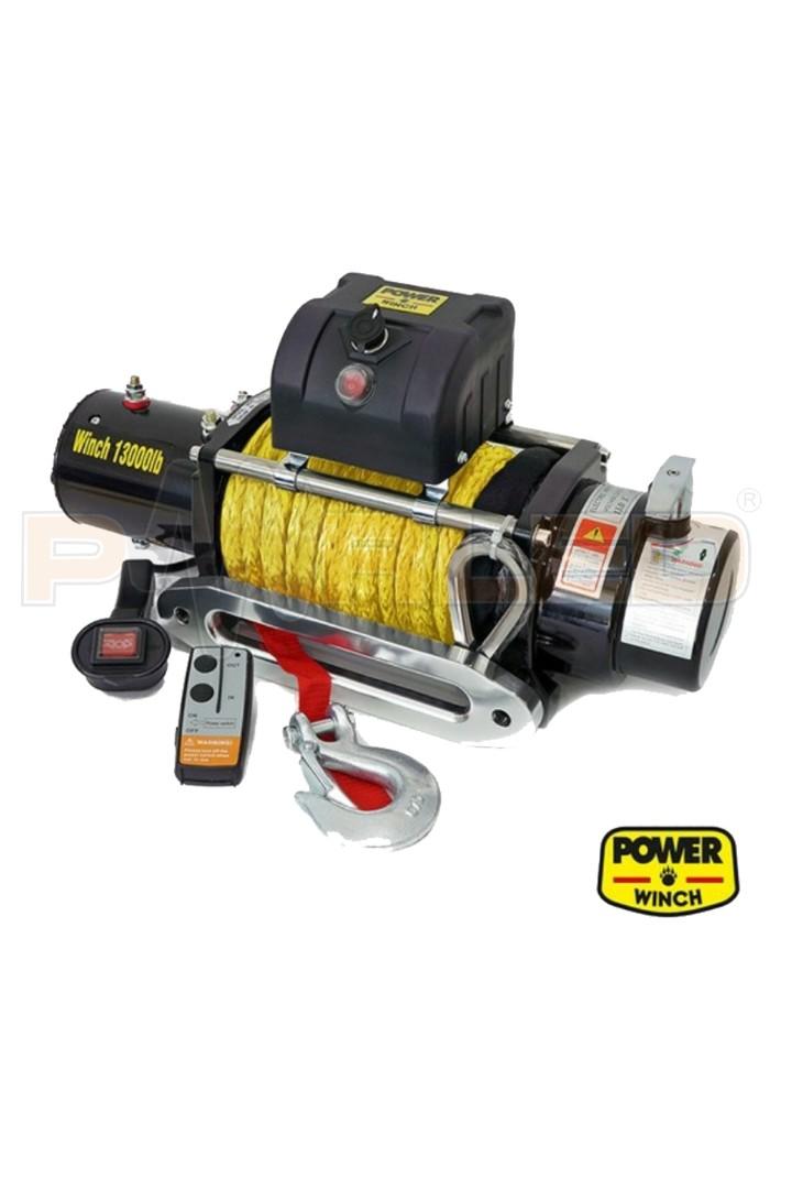 13000 LB Sentetik Halatlı Power Winch ( 5897 Kg.)